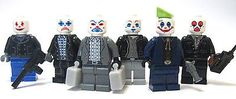 Lego Custom Joker Henchmen from Dark Knight Bank Robbery Batman | eBay