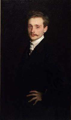 "John Singer Sargent (American, 1856–1925). Léon Delafosse,: 1895. Lent by the Seattle Art Museum | This work is in our ""Sargent: Portraits of Artists and Friends,"" on view through October 4, 2015."