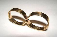 Gold wedding band by Rodrigo Oliveira