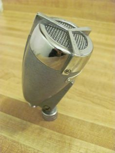 AIWA TEISCO CM-20 Still one of the nicest looking bullet mics.