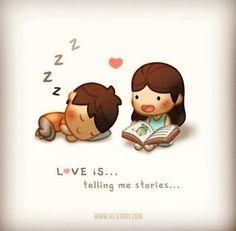 amor es... M contaba historias