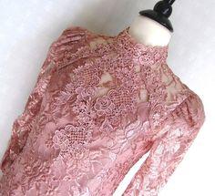 1920s style Victorian  Dress - unusual tea length