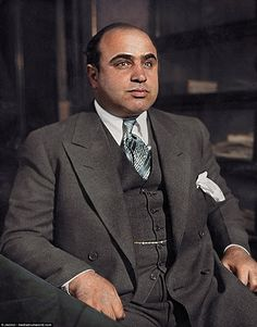 One of the most notorious mobsters to have ever lived, Al Capone - also known as Scarface - was the feared crime boss of Chicago, running criminal rackets all over the Mid West. He made his name during the Prohibition era, aged only 26 where he was the boss of an organization that took in illegal breweries and a transportation network that reached as far as Canada, with political and law-enforcement protection behind him. Capone was widely assumed to have been responsible for ordering the…