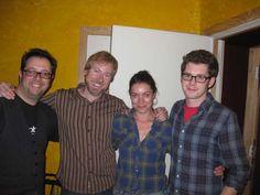 Christopher Allis, Spencer Wright, Michelle Featherstone, & John Gilbertson