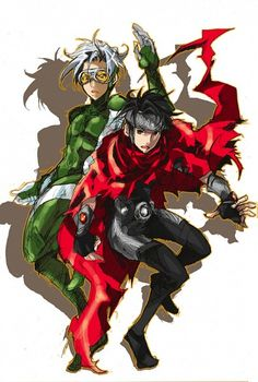 Speed & Wiccan. Young Avengers