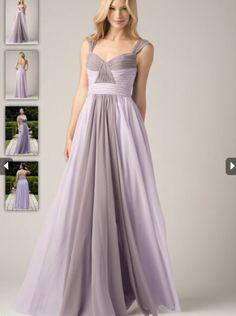 49cabca1f878 2015 A-line Straps Chiffon Bridesmaid Dress WTOO 807 Bridal Party Dresses