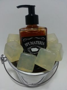 Kit sabonete líquido Whisky | Spumateria | Elo7