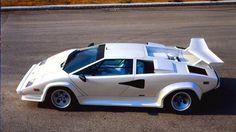 Lamborghini countach white