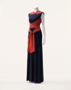 Evening Dress Madeleine Vionnet, 1933 The Kyoto Costume...