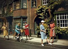 Wartime Britain in Colour: Wartime Fashion, June, 1943