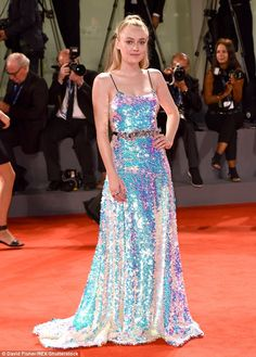 Best of the bunch!She's been turning heads with her stylish ensembles at Venice Film Festival. But Dakota Fanning pulled out all the stops  for the Brimstone premiere on Saturday