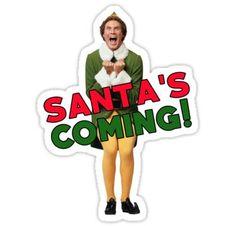 Elf Excited - Movie Elf Cardboard Standup | Buddy the elf ...