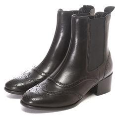 ピエディヌーディ PIEDI NUDI サイドゴムショートブーツ (BLK)-靴とファッションの通販サイト ロコンド