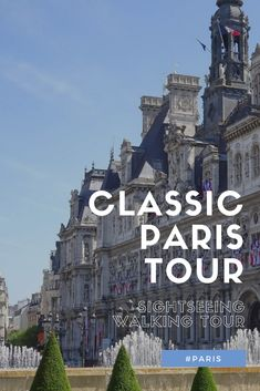 Join our self-guided walking tour of classic Paris, visiting all the must-see places in our great tour.