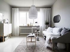 So it's back to the grind for me, and back to lusting over dreamy Scandi homes (keep an eye out – there'll be a few posts later in the week with some snaps from my trip to Malaysia last week)! Thishome isin Gothenburg and I love all the neutral shades of grey and cream, they've got it spot on with the colours in my opinion – the painted grey floorboards contrasted with the buffed-up vintage wooden furniture and the soft creamy accessories. The owners have also made the most of the little…
