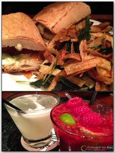New York Food - Shrimp BLT and cocktails at Noho Star