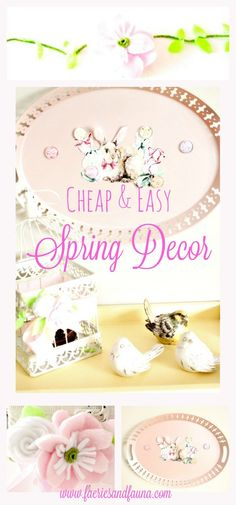 spring decorations, diy spring decor,refurbished bulletin board, cheap and easy crafts, cheap spring craft, easy spring craft, spring home decor.