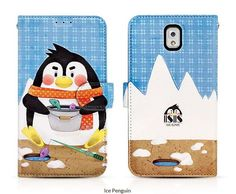 ISIS ANIMAL WORLD FUN DIARY WALLET CASE FOR GALAXY S3. $24.99
