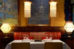 The Asia Gallery Restaurant in the Westin Palace Madrid! I'll be there Friday!