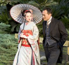 Memoirs of a Geisha  (Probably the most accurate kimono in the movie)