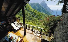 St. Lucia. Gotta go here some day!