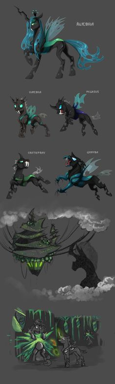 Species Sheet: Changelings by Vindhov