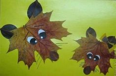 15 Cool Applique Ideas From Autumn Leaves | Kidsomania (These are GREAT ideas to do with the kiddos in the fall time! I love it!)