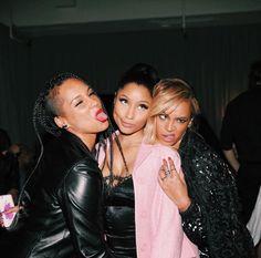 Beyonce ,Nicki Minaj & Alicia Keys  At TIDAL Press Conference 30.03.2015