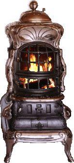 Traumofen Dänischer Ofen um 1890 von K. JERTEMINDE. Ofen erfüllt die Normen der BImSchV. - TRAUMÖFEN