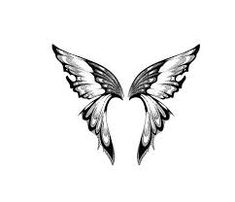"Want this & 🦋 ""quote"" If you whisper in a butterfly's ear it'll fly up to heaven and deliver your message Butterfly Quote Tattoo, Semicolon Butterfly Tattoo, Butterfly Drawing, Semicolon Tattoo, Black Fairy Wings, Cool Tattoos, Tatoos, Heaven Tattoos"