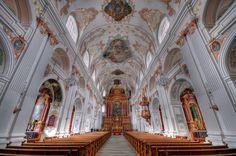 Jesuit Church - interior