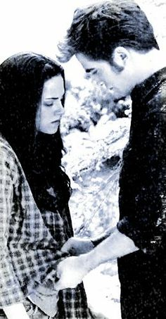 #Twilight - #Bella and #Edward in Eclipse