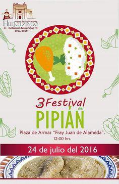 ¡Festival del Pipián!  Este domingo 24 de Julio no dejen de visitar Huejotzingo, Puebla y comerse un pipián con unas deliciosas tortillas de maíz mexicanas. Puebla.Travel. Shared by Edith Cruz
