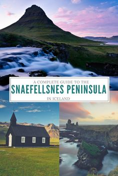 A Complete guide to the Snæfellsnes Peninsula in Iceland! West Iceland, Tours In Iceland, Cool Places To Visit, Places To Go, Iceland Adventures, Iceland Travel Tips, Travel Activities, That Way, Norway