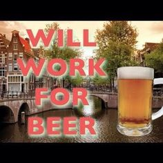 In Amsterdam, people get paid in beer to clean the streets. With #BeeroftheMonthClub you get beer each month and no cleaning is involved! #beer #beer lovers #clubs #clubsofamerica #greatclubs