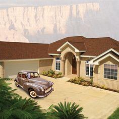 Tri-State Windows, Siding & Roofing,  GAF roof, Timberline HD Hickory House tristatecompany.com