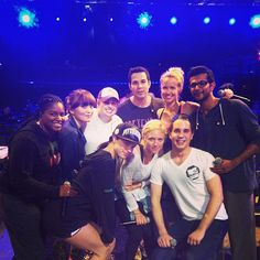Pitch Perfect cast. Hilarious movie