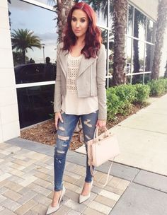 Love love love her style!! Jaclyn Hill is Queen!