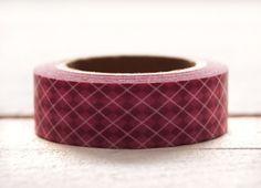 — Rauten Muster Pink Rosa  –– Masking Tape — von dueTori auf DaWanda.com
