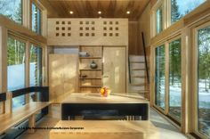 Concise 360 Square Foot Experimental Green Dwelling | Inthralld