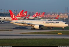 TC-JJN Turkish Airlines Boeing 777-3F2(ER) photographed at Istanbul - Ataturk (IST / LTBA) by Andreas Fietz