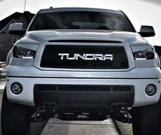 2010 - 2013 Tundra Grille Insert with Color-Matched Lettering - DB Customz Toyota Tundra Lifted, 2010 Toyota Tundra, 2010 Tundra, Toyota Tundra Accessories, Auto Accessories, Chevy Models, Tundra Truck, Volkswagen Golf Mk2, Toyota Trucks