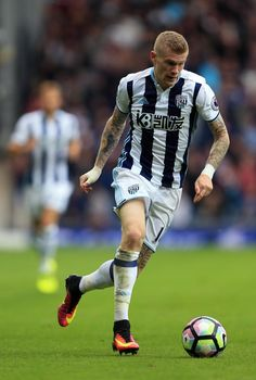 James McClean of West Bromwich Albion during the Premier League match between…