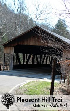 Pleasant Hill Trail at Mohican State Park Things to do in Ohio #OhioStateParks