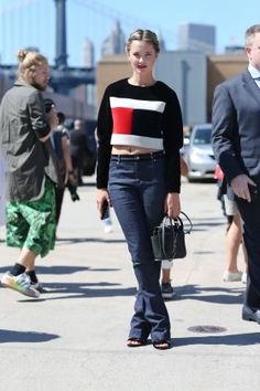 Tommy Hilfiger Spring 2016 Women's Collection KYLEIGH KUHN Street Style Look | Zhiboxs.com
