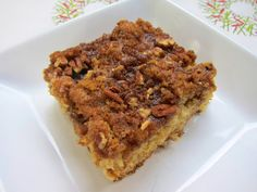 Overnight Coffee Cake - perfect for Christmas morning! | Plain Chicken