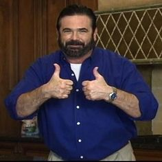 Billy Mays--weird how his voice used to annoy me and now I miss it :/