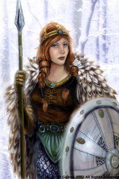 Freyja o Freya, es una de las diosas mayores en la mitología nórdica y germánica. En las Eddas es descrita como la diosa del amor, la belleza y la fertilidad. La gente la invocaba para obtener felicidad en el amor, asistir en los partos y para tener buenas estaciones. También era asociada con la guerra, la muerte, la magia, la profecía y la riqueza.