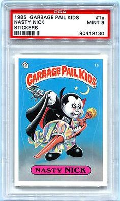 62cfaaa8bf7 PSA Set Registry  Collecting the 1985 Topps Garbage Pail Kids Series 1  Sticker Set - Definitely Not Garbage