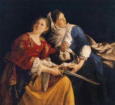 Artemisia Gentileschi, Orazio Gentileschi, Italian Painters, Italian Artist, Caravaggio, Book Of Judith, Judith And Holofernes, Rome, Images Bible